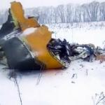 TRAGÉDIA: Avião cai perto de Moscou e deixa 71 mortos, não há sobreviventes