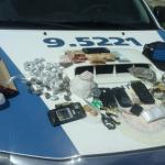Três pessoas são presas por trafico de drogas no Chafariz Lauro de Freitas