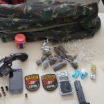 Portão : Elementos armados trocam tiros com a polícia na localidade de Pé Preto