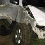 Tragédia: Pai, mãe e filho morrem em grave acidente entre carro e motocicleta
