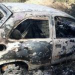 Corpos são encontrados carbonizados dentro de carro em Camaçari