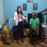 Vereadora Débora Regis visita moradores do Tropical em Itinga para ver as demandas da comunidade