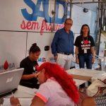 Unidade móvel do Hemoba atende em Lauro de Freitas