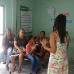 Caps Infantil realiza ação alusiva ao Dia Internacional da Mulher