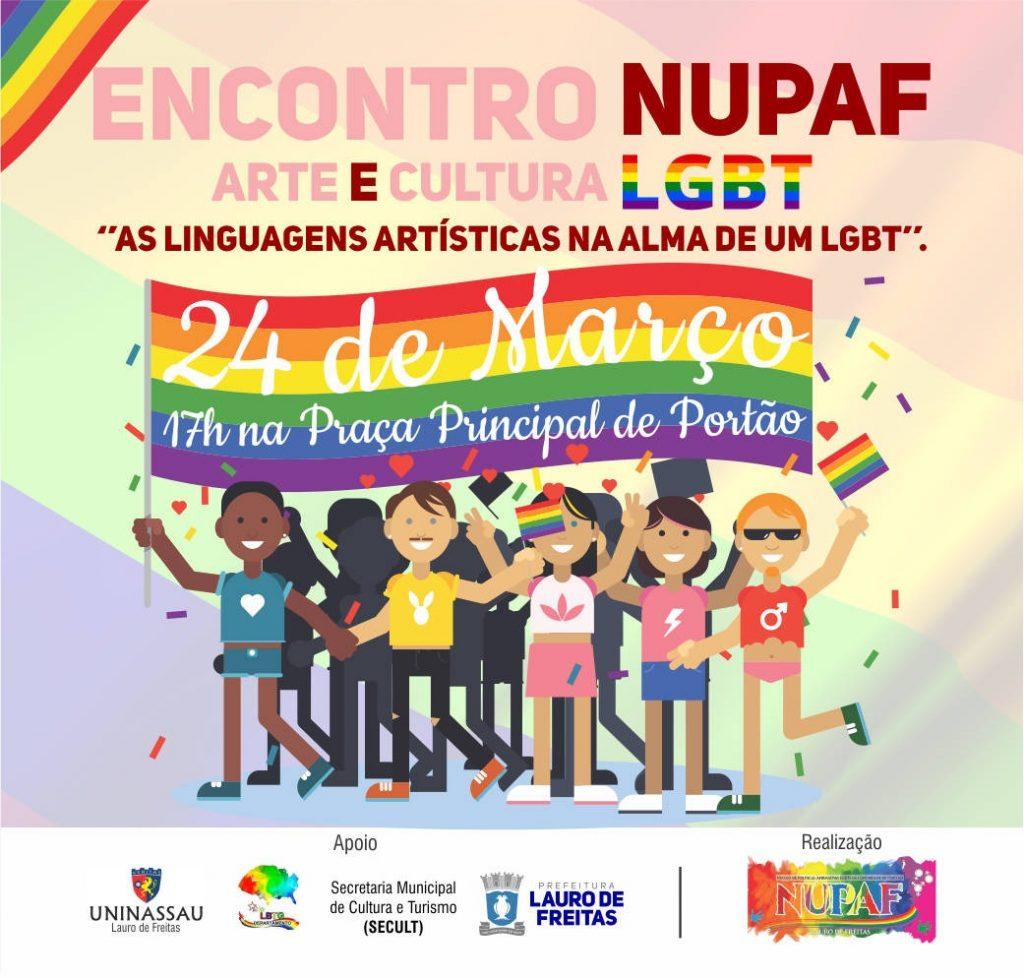 Encontro de arte e cultura LGBT