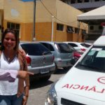 Alex Simões marca presença na entrega de uma nova ambulância para UPA de Itinga