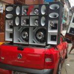PM frustra 'festa de paredão' no Nordeste de Amaralina e apreende equipamentos de som