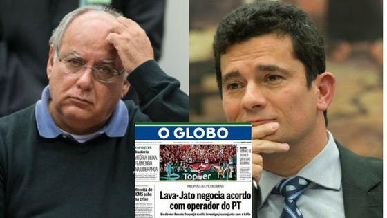 Rede Globo e Moro tentam nova cartada contra o PT