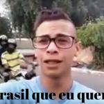 Rapaz faz vídeo pra Globo sobre violência e é assaltado na hora da gravação, assista
