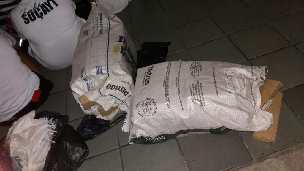 85 kg de drogas no Jardim das Margaridas
