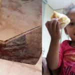 Mãe  tenta matar a filha de 3 anos com golpes de MACHADO na cabeça