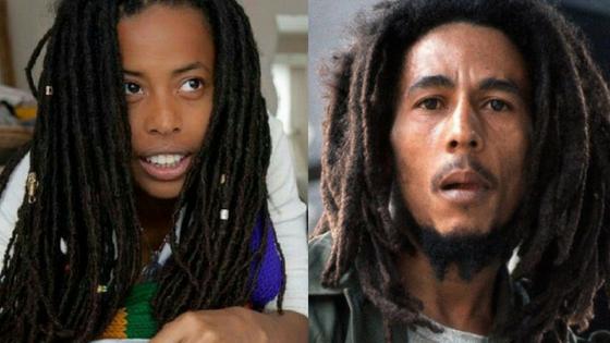 Neta de Bob Marley