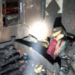 Mulher morre carbonizada em incêndio na igreja Assembleia de Deus
