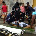 Ciclista é atropelado na Itinga, motorista foge e a polícia faz perseguição