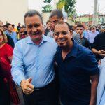 Governador Rui Costa parabeniza Franklin Silva pela passagem do seu aniversário