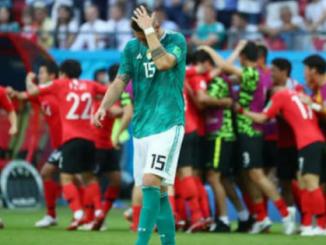 Alemanha 0 x 2 Coréia do Sul