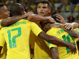 Brasil atropela o México