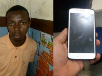 Homem é preso roubando celular em Vilas do Atlantico