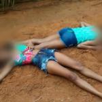 Jovens são executadas com vários disparos de arma de fogo