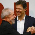 PT oficializa Haddad como vice de Lula, e PCdoB desiste de Manuela