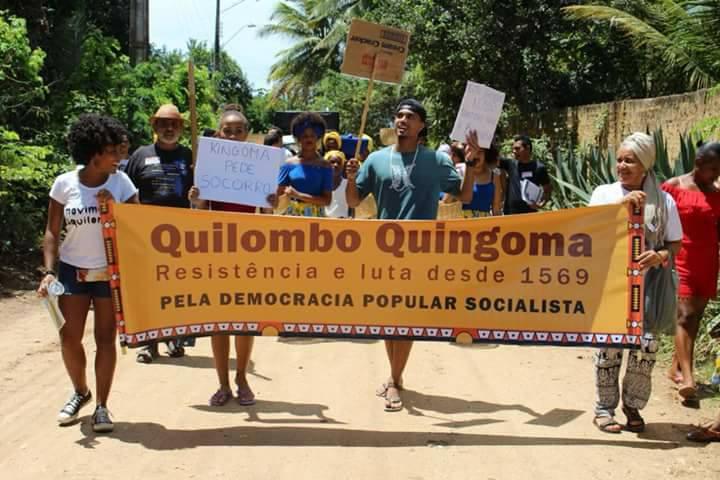 Casa de líder quilombola é atacada em Lauro de Freitas