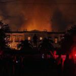 Queda de balão pode ter sido a causa do incêndio no Museu