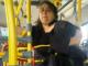 Mulher fica presa em catraca de ônibus