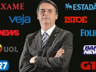 Ataque em massa contra Bolsonaro