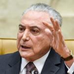 PF indica participação de Temer em corrupção e pede bloqueio de bens do presidente