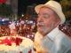Lula pede voto de presente de aniversário