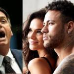 Bolsonaro teria sido pivô de separação deMarquezine e Neymar