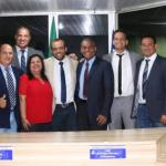 Rosalvo é eleito para 4º mandato como presidente da Câmara de Lauro de Freitas.