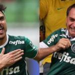 Atacante do Palmeiras ignora Bolsonaro na festa do título brasileiro