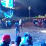 Homem é preso dando facãozada em 5 pessoas no Festival Virada Salvador! Veja