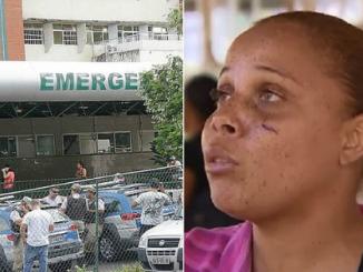 Bebê atingida por bala de borracha em ação da PM