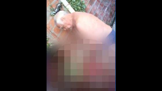 Idoso é filmado estuprando menina de 9 anos