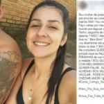 Mulher morta pelo marido na cadeia postava declarações no Facebook