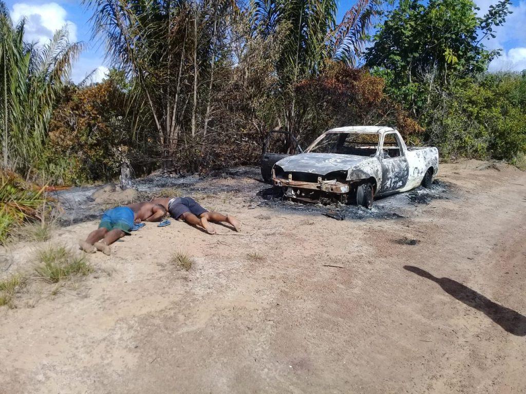 Padrasto e enteado são assassinados na barragem em Dias d'Ávila