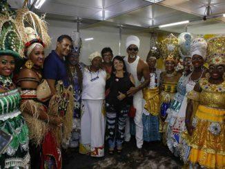 Moema destina R$ 200 mil para o Bankoma desfilar em Salvador
