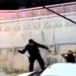 Veja o vídeo: Policial agride mulher com chicotadas em Fortaleza