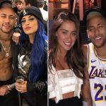 Neymar ficou com duas mulheres em sua festa de aniversário