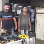 Dupla é presa após tentativa de roubo a banco em Lauro de Freitas
