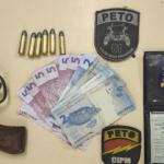 PM prende na Itinga acusado de homicídio, tráfico e assaltos