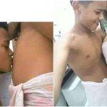 """Menino de 11 anos posta fotos no Facebook comemorando gravidez da 'namorada'. """"Papai já ama"""""""