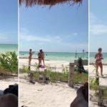 Homem faz zoom com o celular na praia e acaba filmando seus últimos momentos de vida; assista