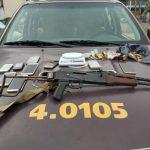 Fuzil AK47 é apreendido em ação da Rondesp