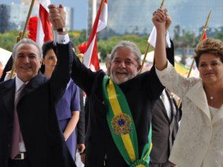 Lula critica prisão de Temer