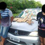 Três da Itinga são presos com 11tablets de maconha em Feira de Santana