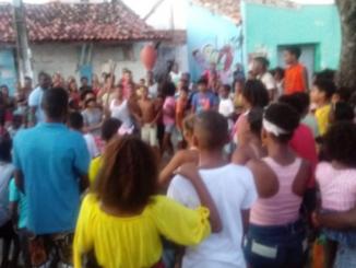 Lúcio Terremoto faz alegria da comunidade