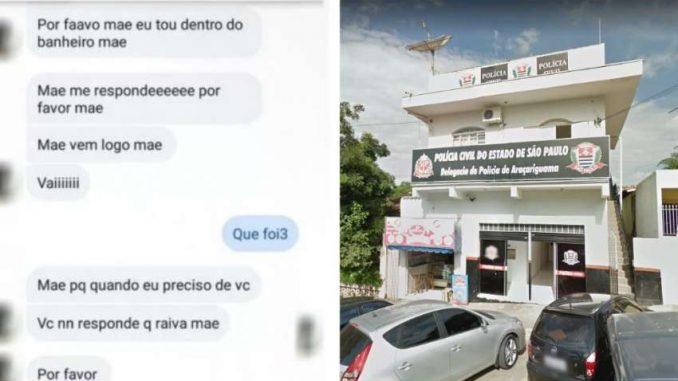 Menina pede socorro à mãe pelo WhatsApp ao ser estuprada por padrasto